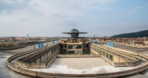 Exploring The Abandoned Test Track On A Shopping Mall Roof