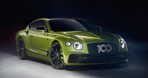 The 'Limited Edition' Bentley Continental GT Doesn't Give A Damn About Subtlety
