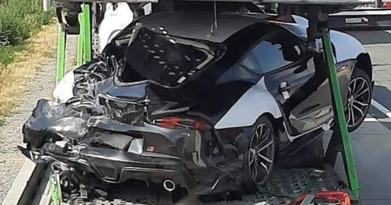 Transporter Full Of Factory-Fresh A90 Toyota Supras Involved In Crash