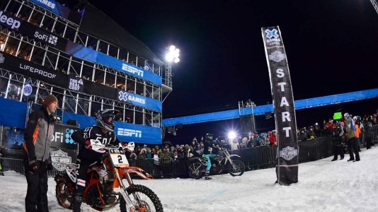 Riders Clash for X Games Gold at Harley-Davidson Snow Climb