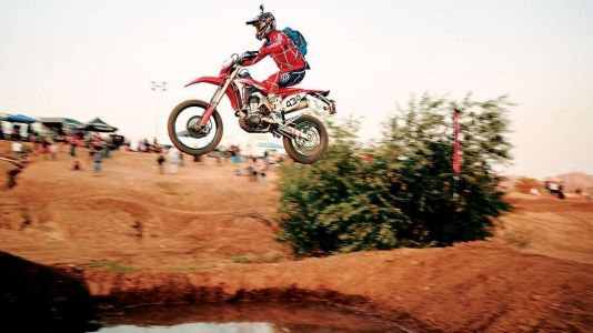 Racing The Lake Elsinore Grand Prix On A Honda CRF450L