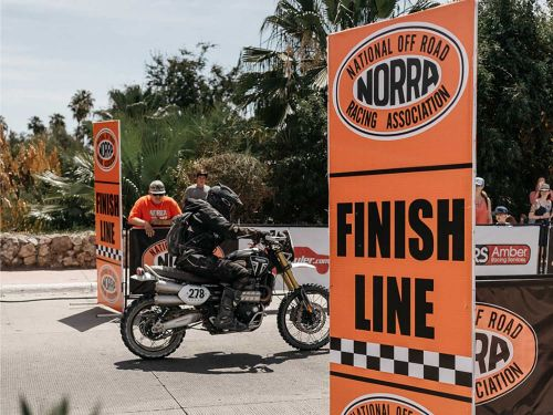 Triumph's Scrambler 1200 XE Takes On NORRA's Mexican 1000