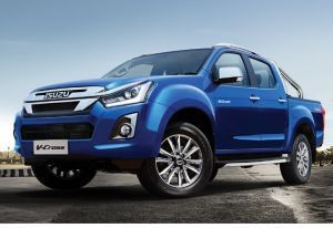 Isuzu DMAX V-Cross Facelift Launched At Rs 1551 Lakh