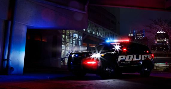 America's Fastest Police Car Is Now An SUV With A Hybrid V6