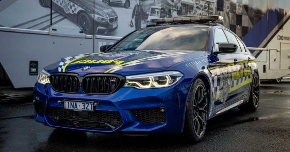 This BMW M5 Competition Is Now The Fastest Police Car Down Under