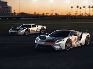 2021 Ford GT Heritage Edition Unveiled Inspired By 1966 Daytona 24 Hour Race Winning Car