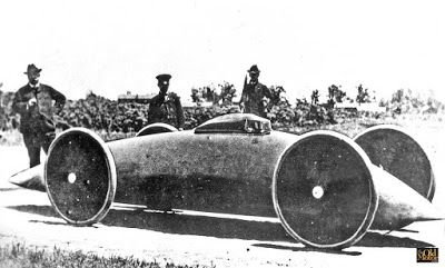 The Baker Torpedo - Electric Streamlined Racing Came Early