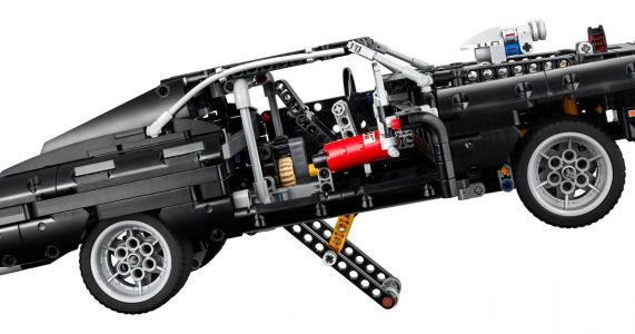 Dom's Dodge Charger Has Been Turned Into A Lego Technic Set