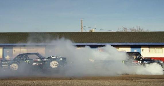 Gymkhana Ten Is A Five-Car Tyre-Shredding Epic