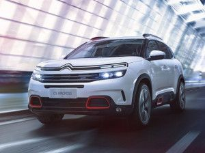 Upcoming Citroen C5 Aircross SUV Spied Testing In India