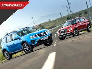 Hyundai Venue DCT vs Renault Duster CVT: The Stress Test