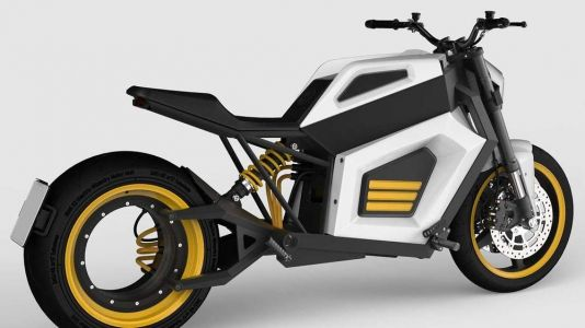 RMK E2 Electric Motorcycle Revealed