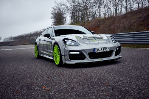 TechArt Furnishes Porsche's Panamera Turbo S E-Hybrid With Striking Styling Kit And 760 HP