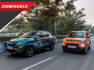 Maruti S-Presso vs Renault Kwid and AMT Comparison