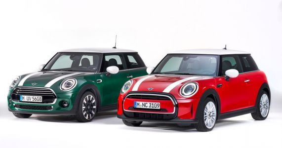 The Updated Mini Has A Strange New Face