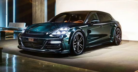 TechArt's GrandGT Is A Porsche Panamera Sport Turismo With Added Rage