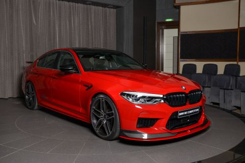 BMW M5 Competition Looks Menacing With Full AC Schnitzer Kit