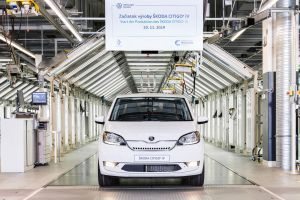 Skoda CITIGOe iV All-Electric Hatchback Enters Production
