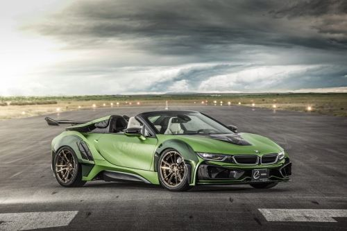 "EVE.RYN BMW i8 Roadster ""Army Edition"" Is A Serious Head Turner"