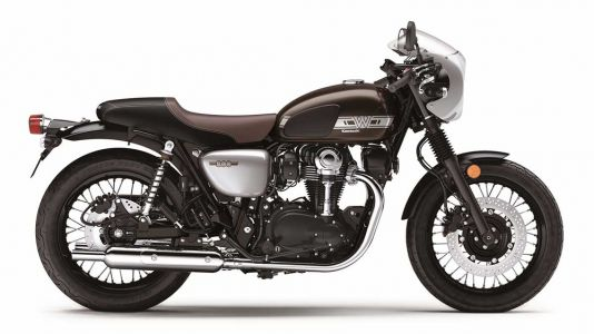 2019 Kawasaki W800 CAFE First Look