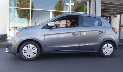The Mitsubishi Mirage's Tiny Tires and Wheels
