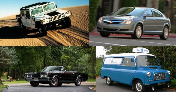 6 Famous Car Brands General Motors Failed