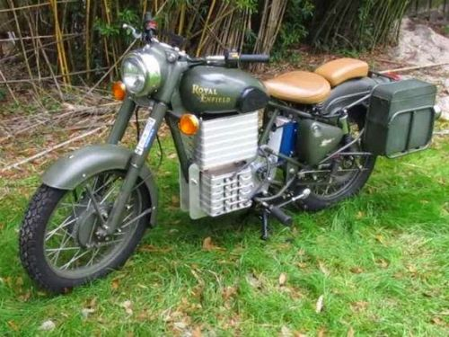 Electric Royal Enfield: World's first Eco-friendly Bullet