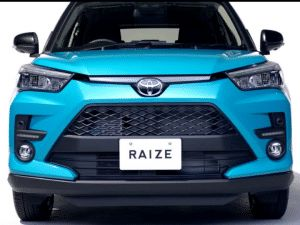 India-Bound Toyota Raize Rise Compact SUV More Leaked Images Emerge