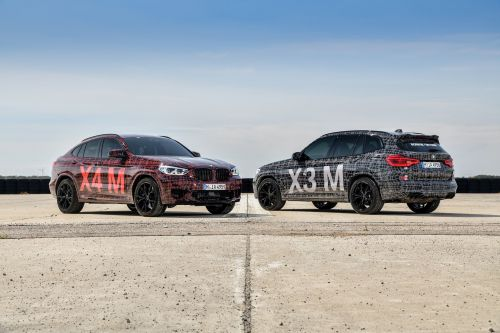 BMW X3 M and X4 M Prototypes Revealed With New Straight-Six