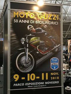 Guzzi pics from the 50th anniversary show of V - Twin production