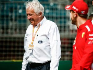 F1 Race Director Charlie Whiting Is No More