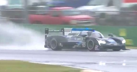 Alonso Has A New Trophy In His Cabinet Following A Soaking Daytona 24