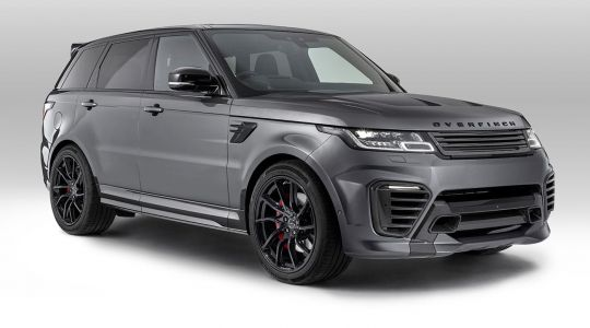 Overfinch Gives The Range Rover Sport A Sportier Look