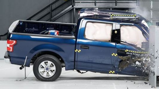 Pickups struggle with passenger-side test