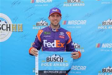 Denny Hamlin is 16/1 to win 2019 FireKeepers Casino 400 at Michigan