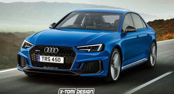 It's About Time Audi Brought Back The RS4 Sedan, Don't You Think?