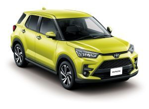India-Bound Toyota Raize Rise Compact SUV Launched In Japan