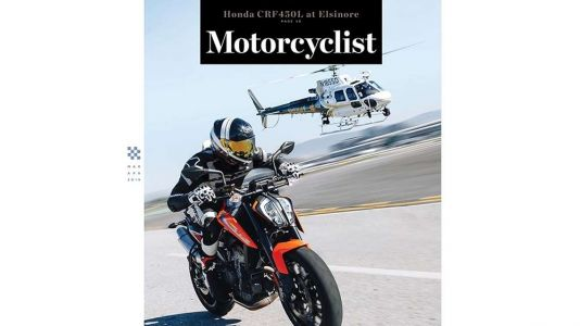 Motorcyclist Magazine's March/April 2019 Crime Issue Preview