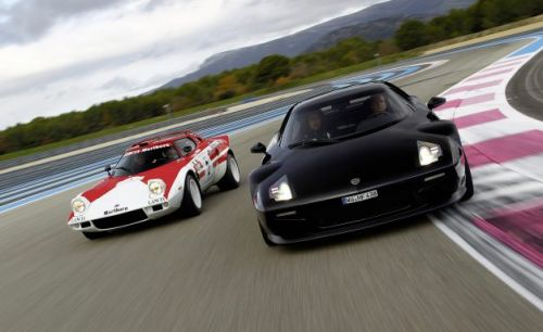 Ferrari-Based Not-a-Lancia-Stratos Heading for Production