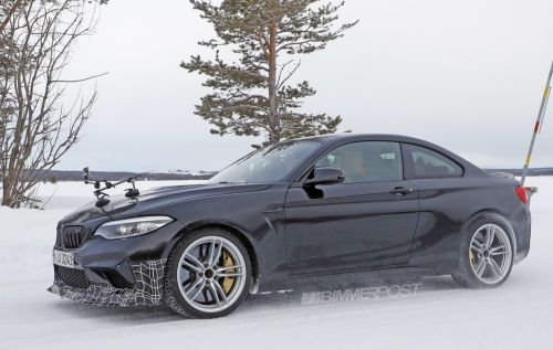 BMW M2 CS/CSL Spotted Testing In The Snow