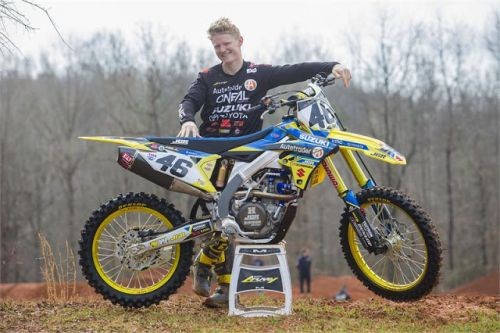JUSTIN HILL TO RACE SELECT 450 SX RACES
