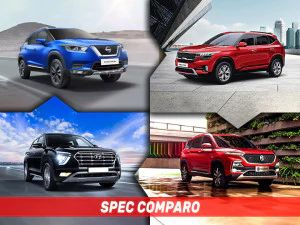 2020 Nissan Kicks vs Kia Seltos vs Hyundai Creta vs MG Hector Turbo-Petrol Engine Specs Compared