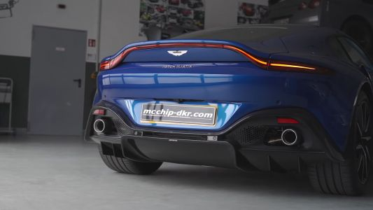 McChip-DKR Give Aston Martin Vantage 691 HP