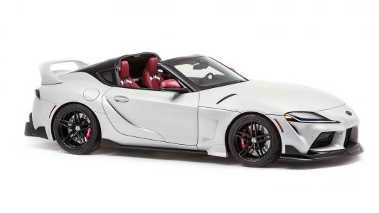 Toyota Supra Loses Its Roof With GR Supra Sport Top Concept