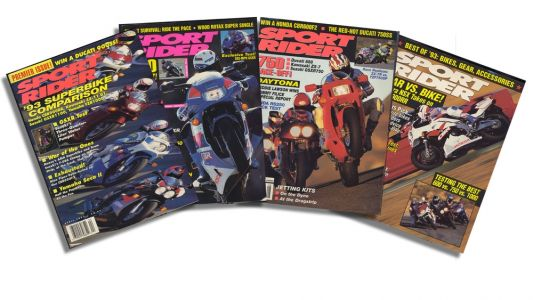 Sport Rider Covers From 1993