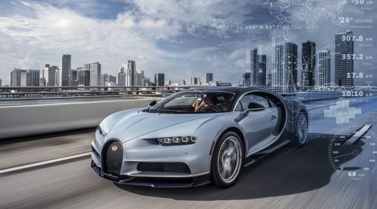 Bugatti Constantly Connected To Your Chiron