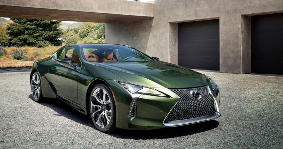 The Lexus LC500 Inspiration Series Is Very Green, Very Awesome