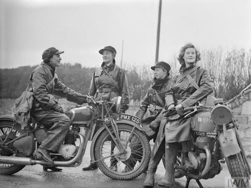 The Female Dispatch Motorcycle Riders Of World War II