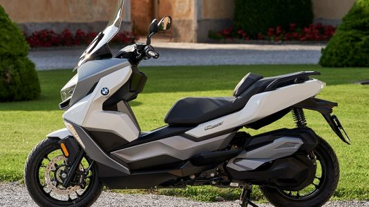 BMW C400GT Maxi Scooter First Look