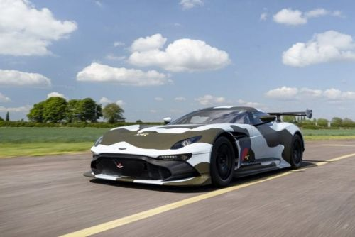 Mr JWW Driving Road Legal Aston Martin Vulcan In Gumball 3000